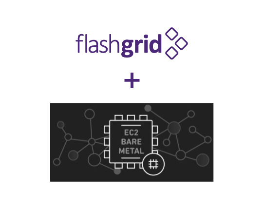 FlashGrid SkyCluster on AWS Bare Metal Instances